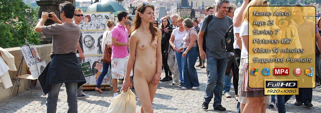 Adela Public Nudity