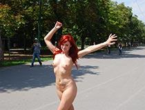 Public flashing - Kety Pearl