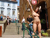 nude in public videos with monalee 8
