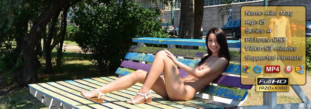 Naked nude in public #14